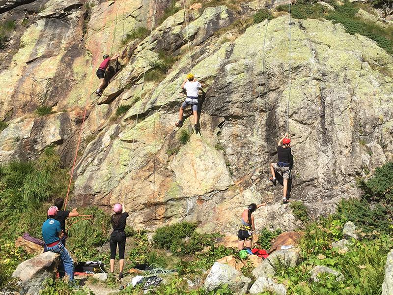 Starting rock climbing
