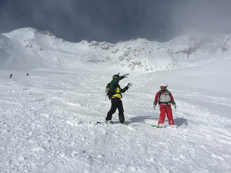 Freeride Area Monte Bianco Ghiacciaio Del Toula Br